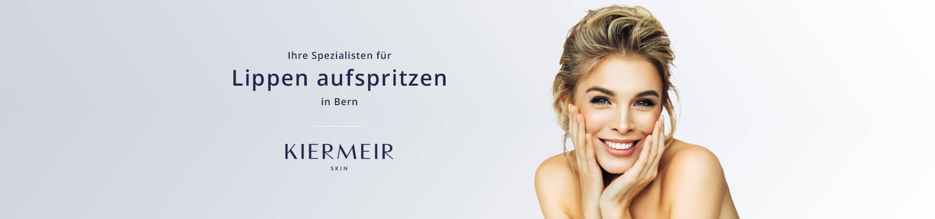 Lippen aufspritzen in Bern - Dr. Kiermeir